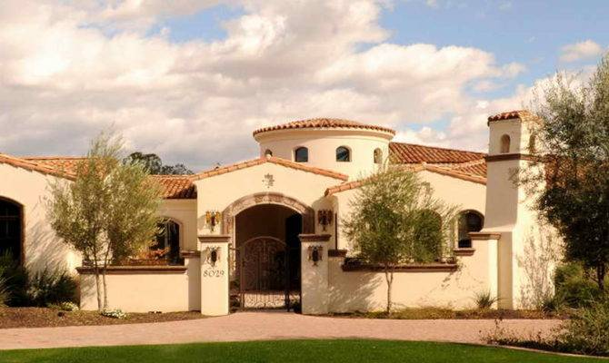 Spanish Colonial Homes Paint Exterior