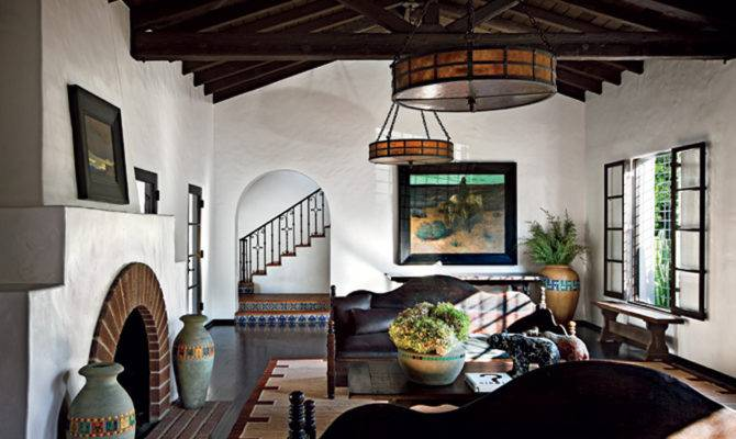 Spanish Colonial Living Room