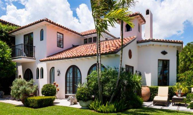 Spanish Mission Style Home West Palm Beach Single