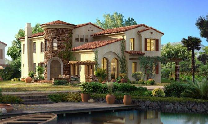 Spanish Style Home House High