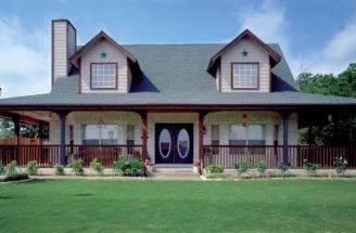 Special Wrap Around Porch Maverick Custom Homes