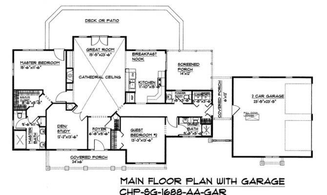 Split Bedroom Dual Master Suite Floor Plan Carolina