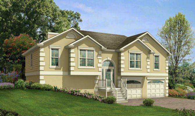Split Level House Plans Garage Home Decor Center