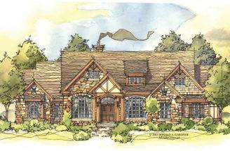 Sprawling Tudor Cottage Ideal Mountain Living