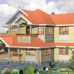 Sqft Bhk House Plan Kerala Home Floor Plans Elevation