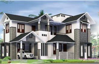 Square Feet Feel Big House Exterior Home Kerala Plans