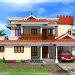 Square Feet Kerala Model House Home Design Floor Plans