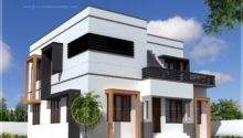 Square Feet Modern Villa Exterior Kerala Home Design Floor Plans