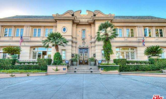 Square Foot Neoclassical Mansion Beverly Hills Homes