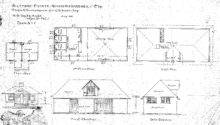 Stable Servants House Beadle Plans Elevations Biltmore