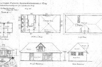 Stable Servants House Beadle Plans Elevations Biltmore