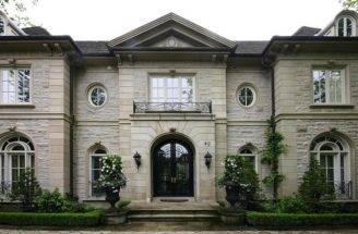 Stone Mansion French Home Exterior Pricey Pads