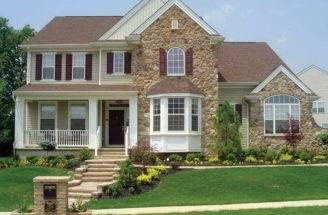 Stone Siding Exterior Home Decor Simulated