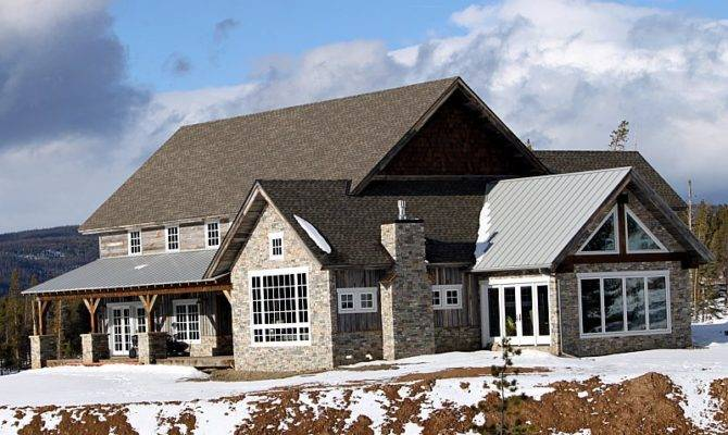 Stoneyard Natural Stone Siding Architecture Colorado Home