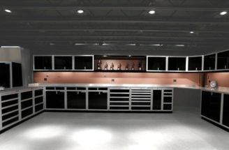 Storage Grey Garage Pinterest