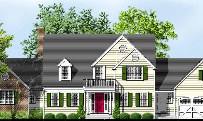 Story Cape Cod Home Plans Sale Original