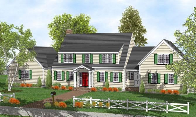 Story Cape Home Plans Sale Original