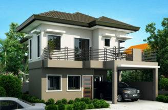 Story House Design Pinoy Eplans Modern Designs Small