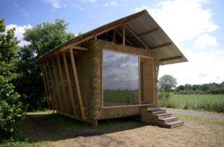 Straw Bale Ecologic Pavilion Cozy Nest Built Improve One