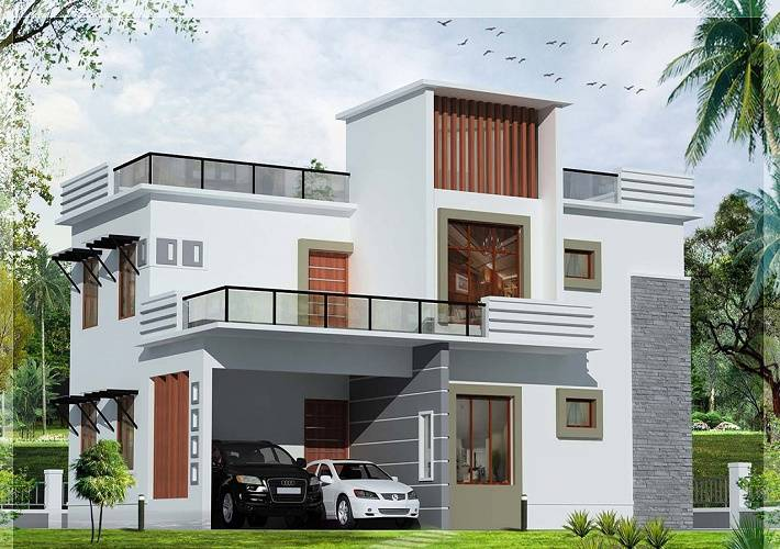 Front model of home