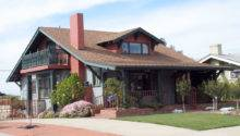 Style Bungalow San Diego California Craftsman Homes