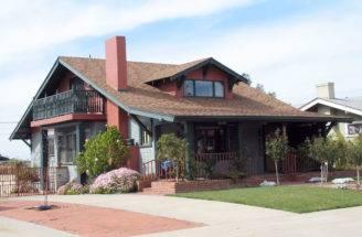Style Bungalow San Diego California Craftsman Homes