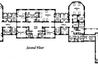 Stylish Mansion Floor Plans First