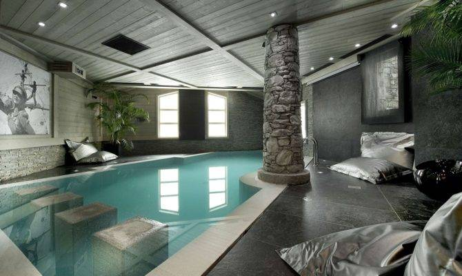 Sun Room Aquarium Indoor Swimming Pool Iklo Custom Home Builders