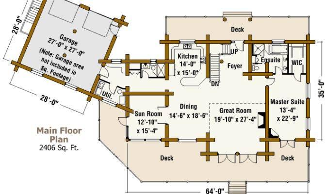 Texas Ranch Log Home Design Connection