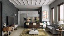 Textures Masculine Apartment Really Make Pop