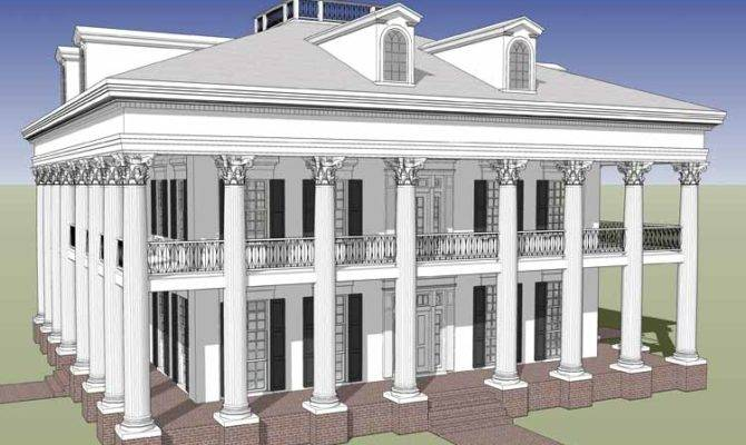Three Bedroom Greek Revival