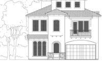 Three Story Urban House Plan Design Has Depth Width