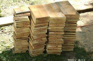 Time Build Houses Very Often Pre Cut Wood