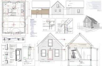 Tiny House Plan Sale Vermont Architect Robert Swinburne