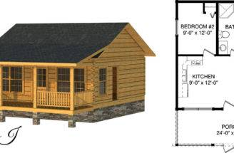 Tiny Houses Log Cabin Plans Southland Homes
