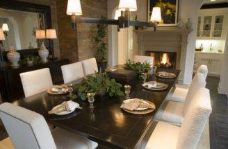 Tips Modern Interior Style Dining Room Happy Design Ideas