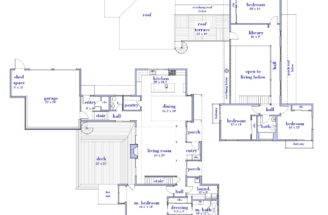 Top Modern House Floor Plans Cottage