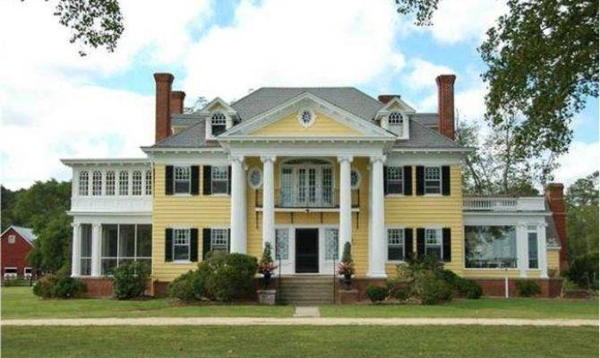 Tour Oak Hall Waterfront Country Estate Greek Revival Manor Home