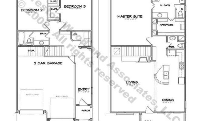 Townhouse Plans Plan