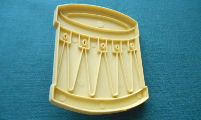 Toy Drum Cookie Cutter Stanley Home Lazydaisyessentials