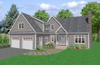 Traditional Country House Plan Cape Cod Plans