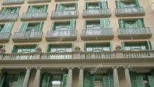 Traditional House Facade Barcelona Catalonia Spain
