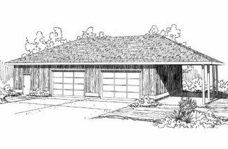 Traditional House Plans Car Garage Associated Designs