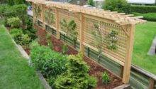 Trellis Design Espalier Bench Also White