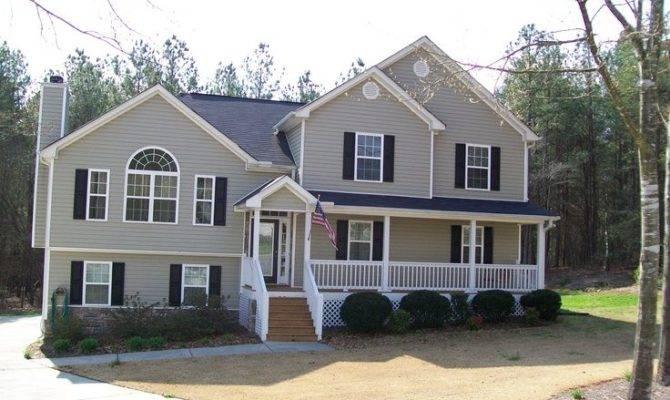 Tri Level Home Front Porch Conceivable Floor Addition Seems