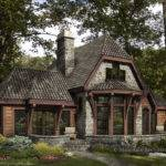 Trian Timber Frame Cabin Home Rustic Luxury Log Cabins Plans