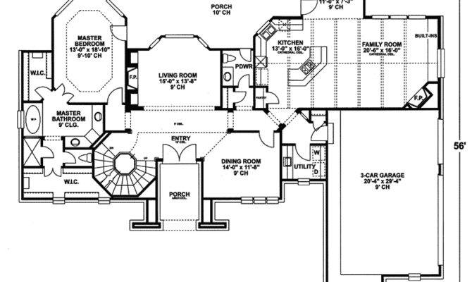 Tudor House Plan First Floor Plans More