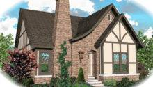 Tudor House Plan Front Home Plans More