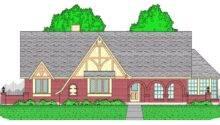Tudor House Plan