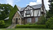 Tudor Revival Style House Located Adams Street Built